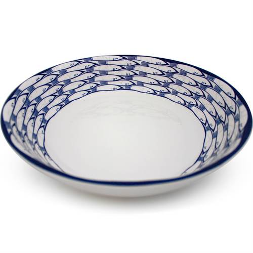 Sardine Run Serving Bowl