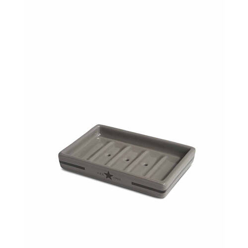 Lexington Soap Dish Dark Grey