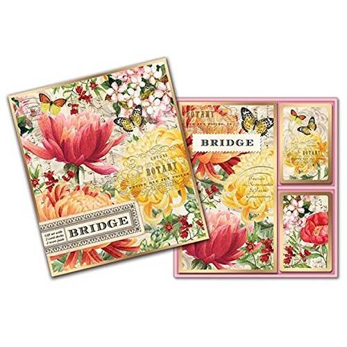 Bridge Card Set Morning Blossom
