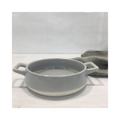 Porcelain Grey Tapas Bowl
