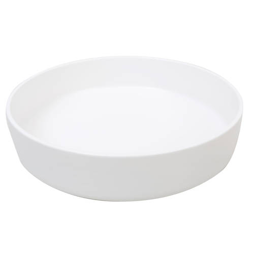 Sienna Shallow Bowl White