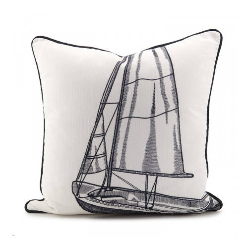 Sailboat Cushion
