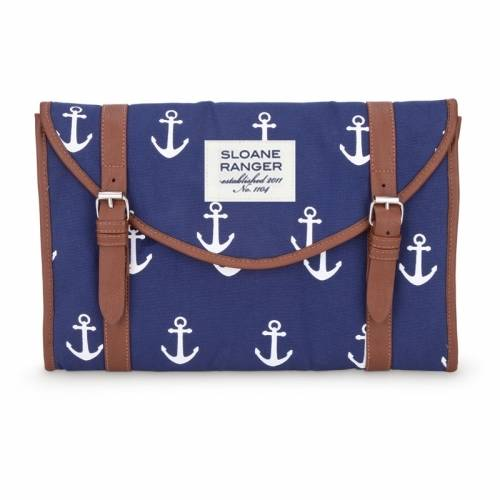 Sloane Ranger Anchor Clutch