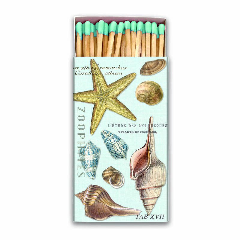 Matches Seashells Design